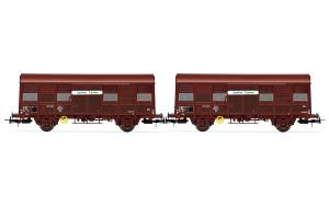 "JOUEF HJ 6166 - SET DE 2 WAGONS GS4 ""AQUITAINE EXPRESS"" HO"